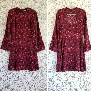 NWT & Other Stories Bell Leopard Print Dress